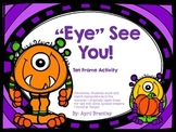 """Eye"" See You Ten Frame Activity"