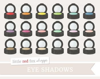 Eye Shadow Clipart; Makeup, Cosmetics