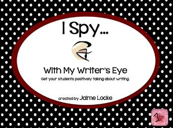 Eye Spy Writing