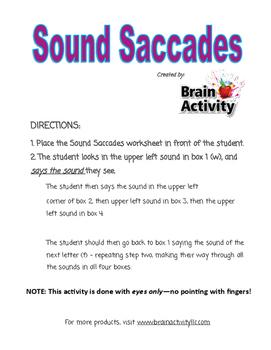 Eye Tracking - Sound Saccades