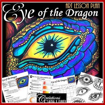 Eye of the Dragon : Art Lesson Plan