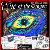 Eye of the Dragon : Art Lesson Plan