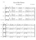 Eye of the Flower (4 Part Round) - 1st Year String