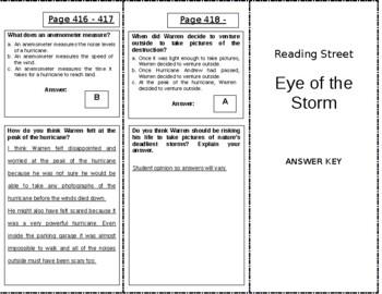 Eye of the Storm - 4th Grade Reading Street