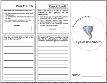 Eye of the Storm - 4th Grade Reading Street