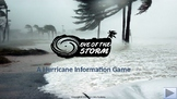Eye of the Storm: An Interactive Hurricane Information Pow