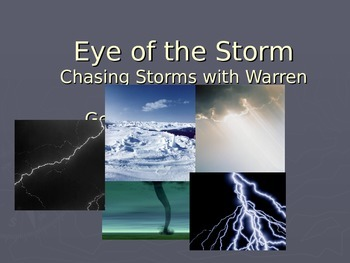 Eye of the Storm Vocabulary Power Point Reading Street 2011