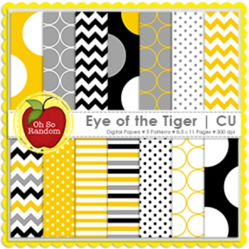Eye of the Tiger {Papers for Commercial Use}