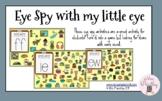 Eye spy with my little eye - vowel teams/diphthongs/double
