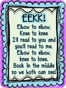 Eye to Eye, Knee to Knee Posters