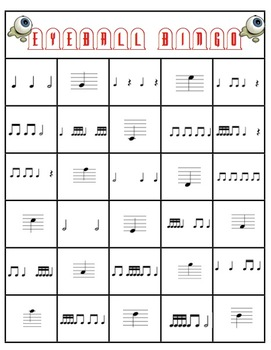 Eyeball Bingo Note and rhythm review