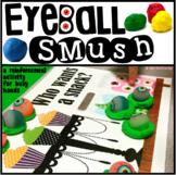 Dough Mats Freebie for Halloween ~ Eyeball SMUSH!