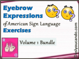 Eyebrow Expressions of American Sign Language