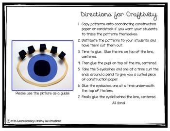 Eyelashes Craft