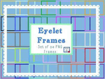 Eyelet PNG Frames by LiB