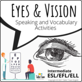 Eyes and Vision: Body Vocabulary and Idioms activity pack