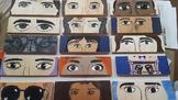Eyes on You (mixed media art)
