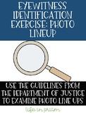 Eyewitness Identification Procedures-Forensic Science, Cri