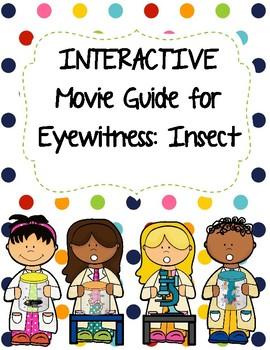 Eyewitness Video Series - INSECTS Video Worksheet (Movie Guide) | TpT