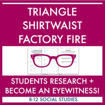 Eyewitness to the Triangle Shirtwaist Factory Fire Activity