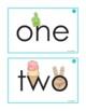 Eyewords Color, Number and Shapes Flashcards/Wordwall Cards Bundle