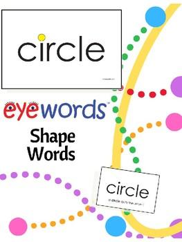 Eyewords Multisensory Shape Words