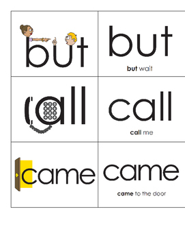 Sight Word of the Day/Week Badges Eyewords 51-100