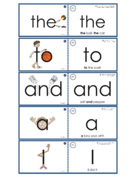 Eyewords® Multisensory Sight Words Pocket Chart Cards Bundle, Words 1-150