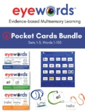 Eyewords® Multisensory Sight Words Pocket Chart Cards Bund