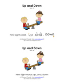 Sight Word Stories, Eyewords Booklet 5: up, and, down