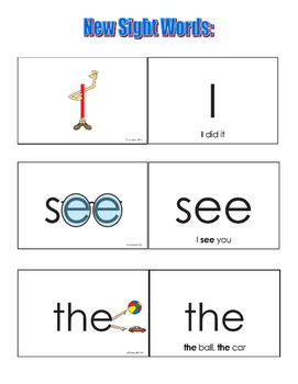 Sight Word Stories, Eyewords Guided Reading Bundle