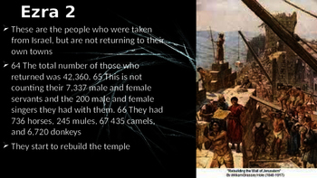 Ezra Bible Power Point Walkthrough