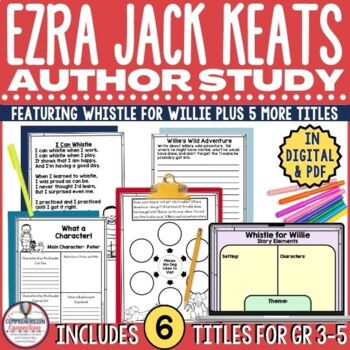 Ezra Jack Keats Author Study Bundle