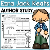 "Ezra Jack Keats ""Click-and-Print"" Author Study and Book Study Bundle"