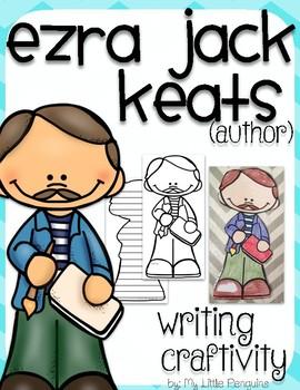 "Ezra Jack Keats ""Craftivity"" Writing page (Author of The Snowy Day)"