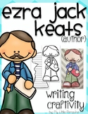 "Ezra Jack Keats ""Craftivity"" Writing page (Author of The Snowy Day)"