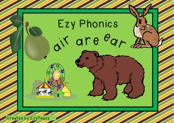 Ezy Phonic Sounds air are ear