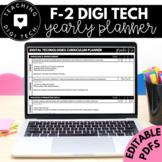 F-2 ACARA Digital Technologies Curriculum Checklist & Curr