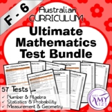 Ultimate F-6 Mathematics Test Bundle - Australian Curriculum