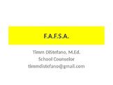 F.A.F.S.A. Class of 2018