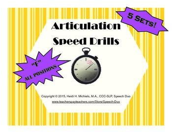 /F/ Artic Speed Drill SET