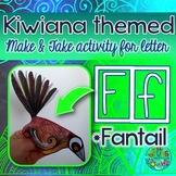 F = FANTAIL {Kiwiana Themed 'Make & Take' Alphabet Set}