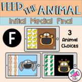 F Feed the Animal Words Initial Medial Final Articulation