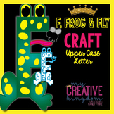 F - Frog and Fly Upper Case Alphabet Letter Craft