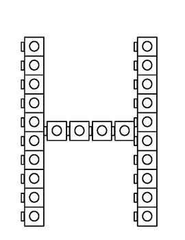 F-J Connecting Cubes