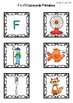 F - L - Fl Flash Cards for Memory or Sorting