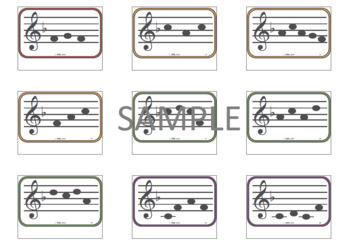 F Major Tonal Patterns for Older Beginners--Small print version