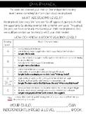 F&P Parent Information Letter