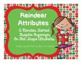 Reindeer Attributes Graphic Organizer- INB Activity