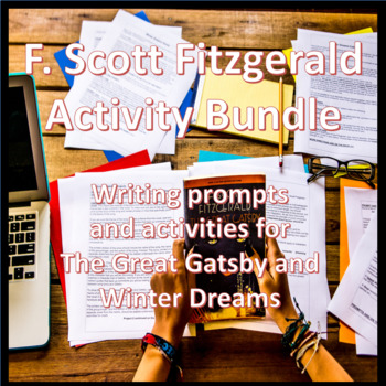 F. Scott Fitzgerald Activity Bundle